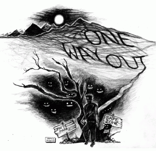 One Way Out — Uncoloured