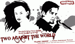 Grindhouse Drawings — Two Against the World — by Karthik Abhiram