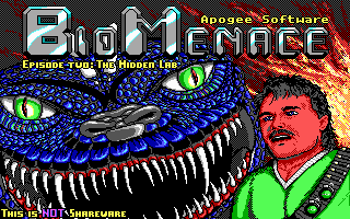 Bio Menace by 3D Realms/Apogee