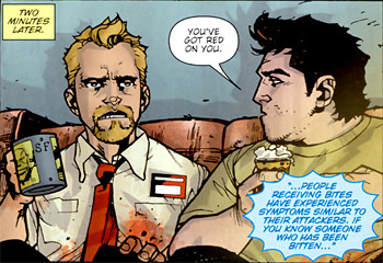Shaun of the Dead Comic Adaptation