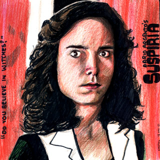 Suspiria — Drawing by Karthik Abhiram