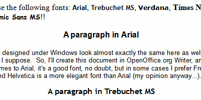 MS Fonts on Linux: Microsoft Word