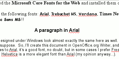 MS Fonts on Linux: OpenOffice.org