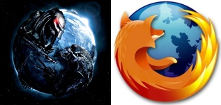 AVP-R Poster and Firefox Logo