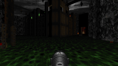 Screenshot of an upcoming Doom II map [spm1]