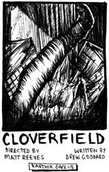 Cloverfield — Drawing by Karthik Abhiram