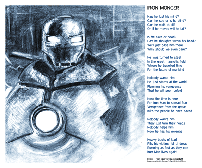 Iron Monger — Drawing by Karthik Abhiram