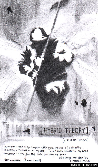 Linkin Park — Hybrid Theory — Art by Karthik