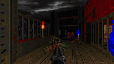 Dark Fate 2 — a Doom II map by Karthik Abhiram